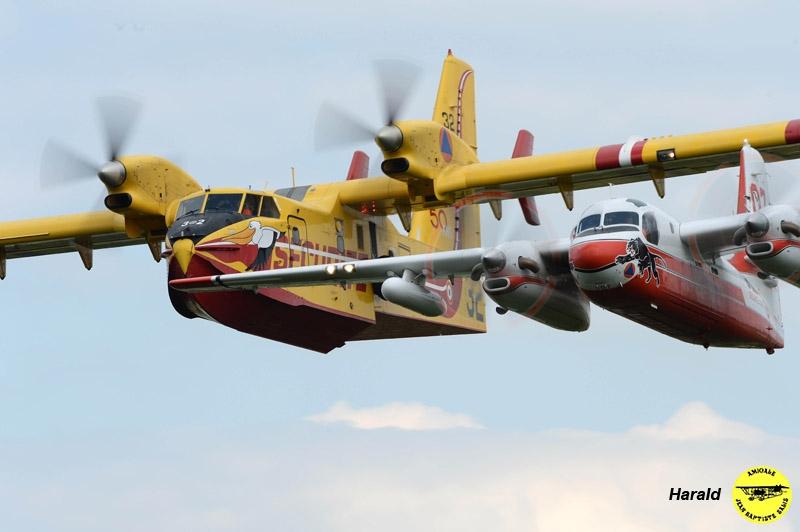Canadair CL 415T et Turbo Firecat - Sécurité Civile
