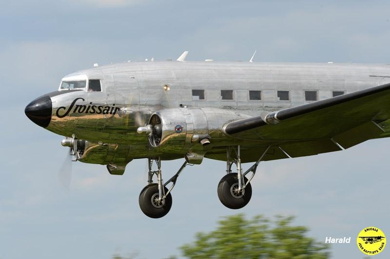 DC-3 Swissair (H.J Herzog)