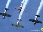 Patrouille Aerostars - Yak 50
