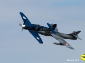 Hunter (E. Hauert) et Sea Fury (P.Marchasson)