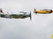 AD-4N Skyraider et T6 - Ajbs