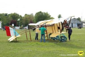 vol d'essai du Caudron G3 le 12 mai 2015