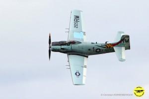 Le Skyraider vole à nouveau !