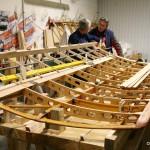 La fabrication des ailerons du Caudron G3