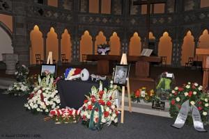 L'hommage à Léon en l'église Saint Paul de Strasbourg