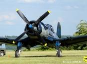 Corsair F-4U - Casques de cuir