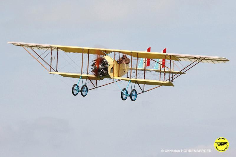 Restauration et remise en vol du Caudron G III - AJBS